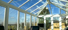 Roof cleaning and conservatory cleaning in Poole and Broadstone